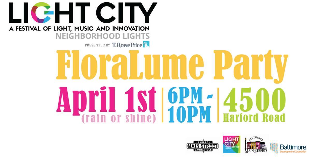 Light City FloraLume Party
